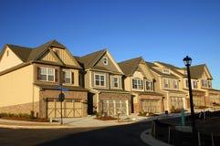 Huizen in de stad Royalty-vrije Stock Foto