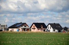 Huizen in de voorstad Royalty-vrije Stock Foto