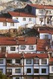 Huizen in dorp, Anatolië, Turkije Stock Afbeelding