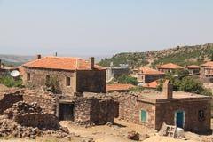 Huizen, Egeïsche dorpen Royalty-vrije Stock Fotografie
