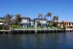 Huizen in Fort Lauderdale Stock Fotografie