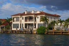 Huizen in Fort Lauderdale Royalty-vrije Stock Afbeeldingen