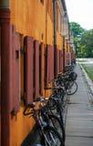 Huizen in Kopenhagen Stock Afbeelding