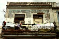 Huizen in La Havana Royalty-vrije Stock Afbeelding