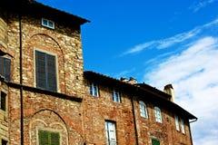 Huizen in Luca Royalty-vrije Stock Foto