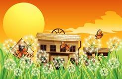 Huizen met verschillende ontwerpen vector illustratie