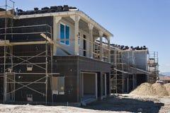 Huizen in ontwikkeling Royalty-vrije Stock Afbeelding