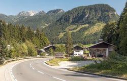 Huizen in Oostenrijk Stock Foto's