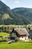Huizen in Oostenrijk Royalty-vrije Stock Afbeeldingen