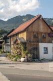 Huizen in Oostenrijk Royalty-vrije Stock Foto