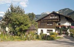 Huizen in Oostenrijk Stock Afbeelding