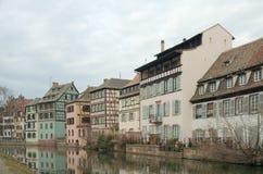 Tenger-Frankrijk, Straatsburg, Frankrijk Stock Foto