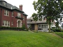 Huizen in Stad royalty-vrije stock afbeelding