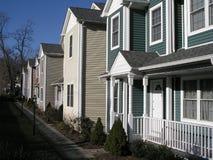 Huizen in Stamford   Stock Foto's