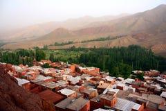 Huizen van Abyaneh Royalty-vrije Stock Fotografie
