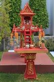 Huizen van geesten in Thailand royalty-vrije stock fotografie