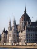 Huizen van het Parlement in Boedapest Hongarije Stock Fotografie