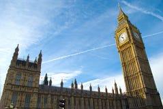 Huizen van het Parlement, Londen Royalty-vrije Stock Foto's