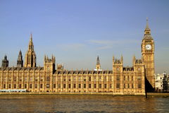 Huizen van het Parlement, Londen Royalty-vrije Stock Foto