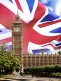 Huizen van het Parlement - Londen Stock Fotografie