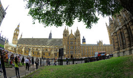 Huizen van het Parlement - Londen Stock Afbeelding