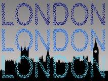 Huizen van het parlement Londen Stock Afbeeldingen
