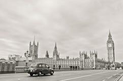Huizen van het Parlement in Londen Stock Afbeelding