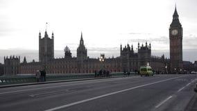 Huizen van het parlement Londen stock video