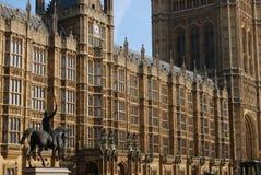 Huizen van het Parlement, Londen Stock Afbeeldingen