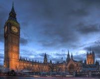 Huizen van het Parlement, Westminster Stock Foto