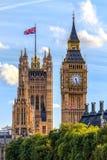 Huizen van het Parlement, Westminster, Londen Royalty-vrije Stock Foto