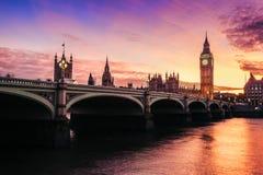 Huizen van het Parlement, Westminster, Londen Stock Afbeelding