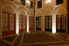 Huizen van Italiaanse Riviera stijl, visserswerf Royalty-vrije Stock Fotografie