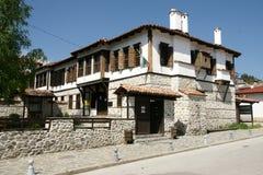 Huizen van Zlatograd 17 royalty-vrije stock foto's