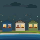 Huizen voor Huur/Verkoop Concept 6 van onroerende goederen Royalty-vrije Stock Foto