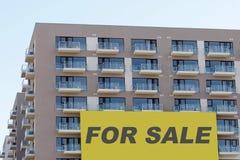 Huizen voor verkoop Stock Foto