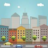 Huizen voor Verkoop/Huur Real Estate stock illustratie