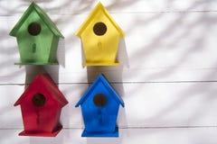 Huizen voor vogels Stock Afbeelding