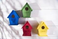 Huizen voor vogels Royalty-vrije Stock Foto