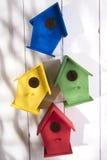 Huizen voor vogels Stock Afbeeldingen