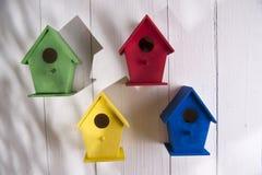 Huizen voor vogels Royalty-vrije Stock Afbeeldingen