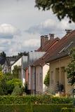 Huizen in voorsteden stock foto's