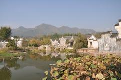 Huizhou ancient dwellings: Chengkan Royalty Free Stock Photo