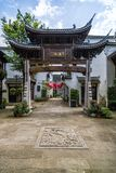 Huizhou-Architektur lizenzfreies stockfoto