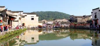 Huizhou-Architektur, traditionelles China Lizenzfreie Stockbilder