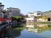 Huizhou-Architektur, traditionelles China Lizenzfreie Stockfotografie