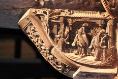 Huizhou arkitektur Royaltyfria Bilder