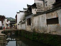 Huizhou arkitektur Arkivfoto
