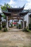 Huizhou arkitektur royaltyfri foto