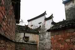Huizhouarchitectuur stock afbeeldingen